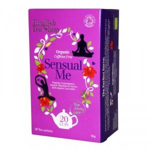 Krabička s 20 sáčky BIO Wellness čaj pro povzbuzení smyslů