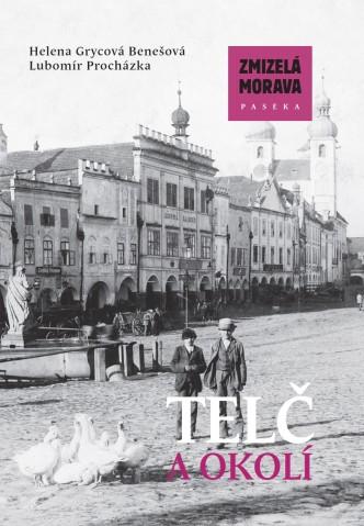 obal knihy zmizelé Čechy -Telč