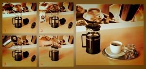 frenchpress postup přípravy kávy-foto archiv redakce