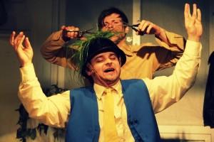 ukázka z premiéry hry Vojcek ve Vinohradském divadle D21