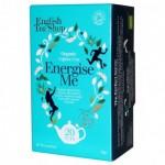 na obrázku krabička bio Wellness čaje pro podporu energie