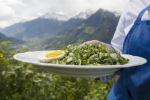 foto pampeliškového salátu