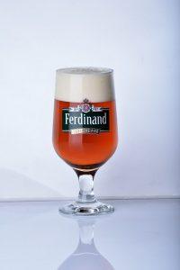Sedm kulí  pivo z Benešovského pivovaru Ferdinand