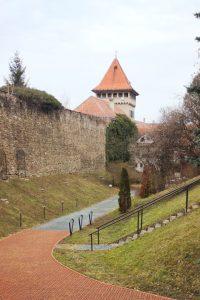 Hrad v Maďarském městě Köszeg