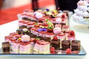 Obrázek minidezertů na gastrofestivalu Prague candy festival