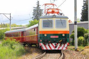Retro vlak Ostravan