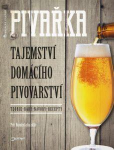 Obal knihy Pivařka pojednávající o domácím vaření piva
