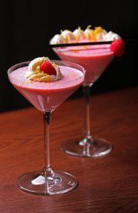 Onrázek k receptu-Recept: Malinový milkshake s chantilly krémem