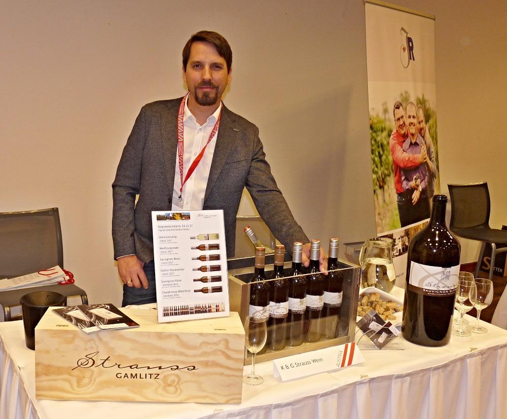 prezentace vín na akci Den rakouského vína