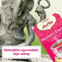 Eshop s čokoládou a BIO potravinami -ajurvédský čaj yogi eshop