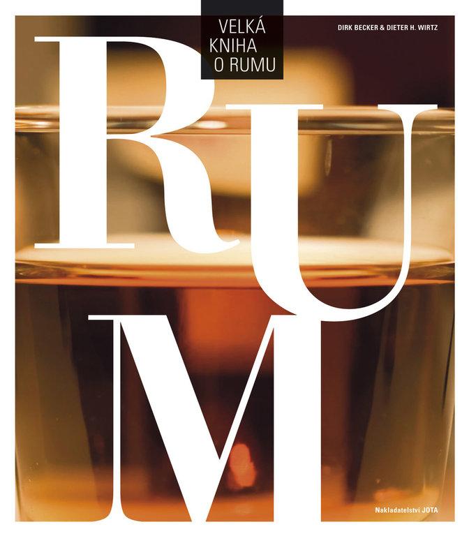 Obálka knihy o rumu
