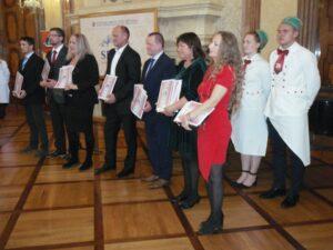 Slavnostní ocenění výherců v důstojných prostorách Senátu PČR v r. 2019