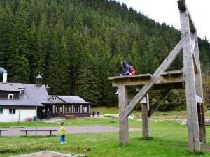 Dovolená v Krkonoších - výlet do Obřího dolu