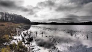 I na Lipenské přehradě není vždy krásné počasí