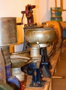 Expozice muzea másla v Máslovicích