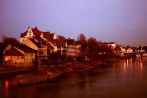 Regensburg, nábřeží